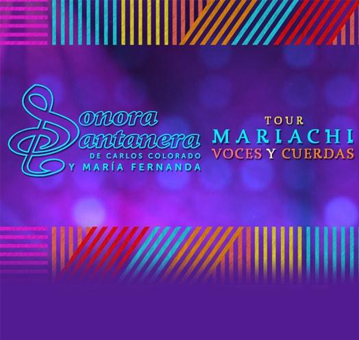 SONORA SANTANERA: MARIACHI, VOCES Y CUERDAS