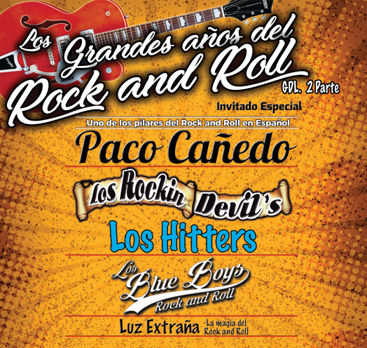 LOS GRANDES AÑOS DEL ROCK AND ROLL 2DA PARTE
