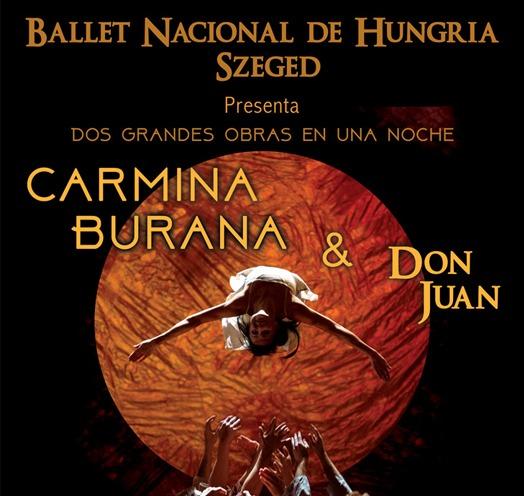 DON JUAN Y CARMINA BURANA- BALLET NACIONAL DE HUNGRÍA SZEGED
