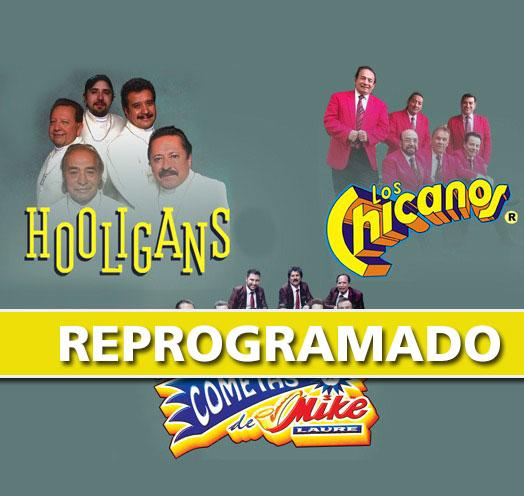 LOS HOOLIGANS, MIKE LAURE & LOS CHICANOS