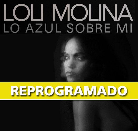 LOLI MOLINA PRESENTA: LO AZUL SOBRE MI