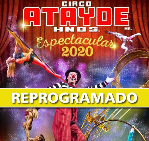 CIRCO ATAYDE HERMANOS - ESPECTACULAR 2020