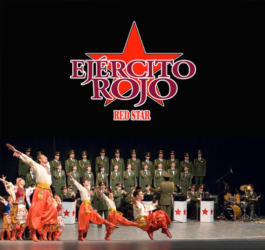 Coros, orquesta y ensamble del EJÉRCITO ROJO